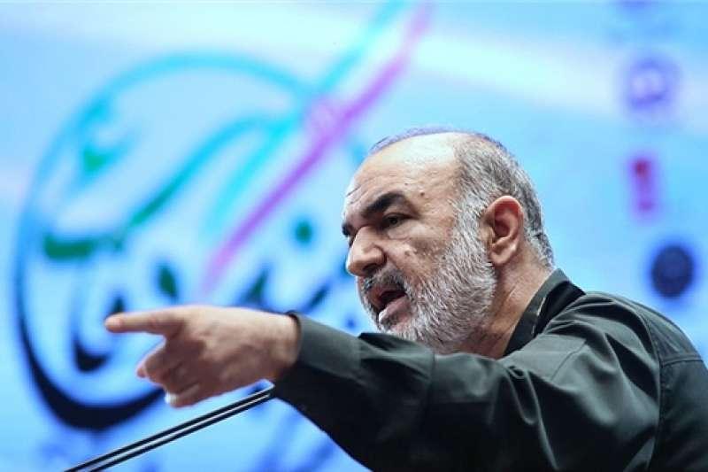 伊朗革命衛隊司令薩拉米(Hossein Salami)。