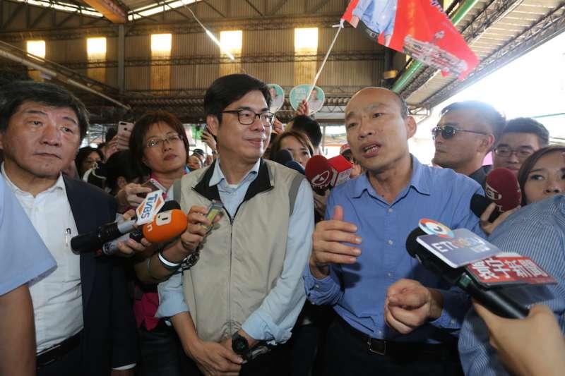 民調指他回鍋選高雄將大勝 陳其邁:韓國瑜認真做就沒這結果-風傳媒