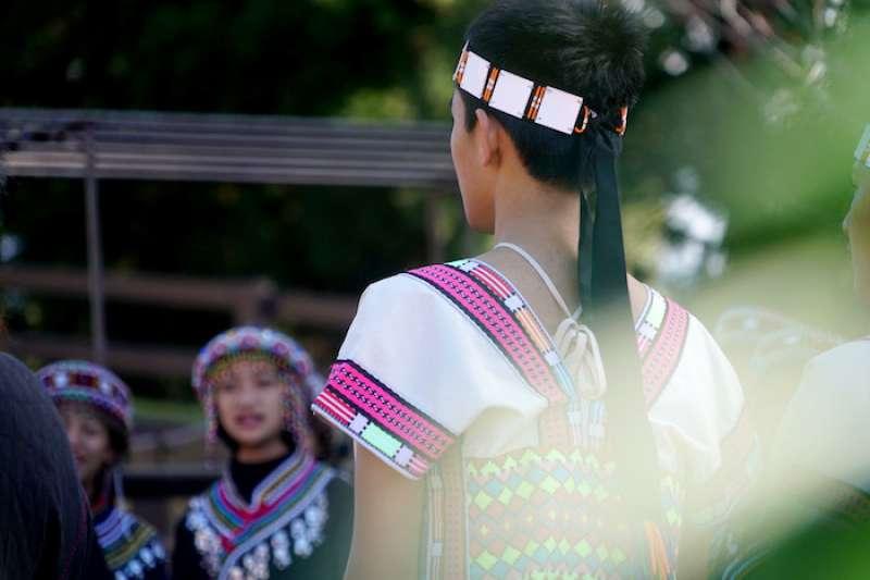 原住民青少年。(曾廣儀攝)