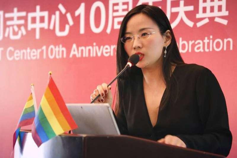北京同志中心負責人辛穎。