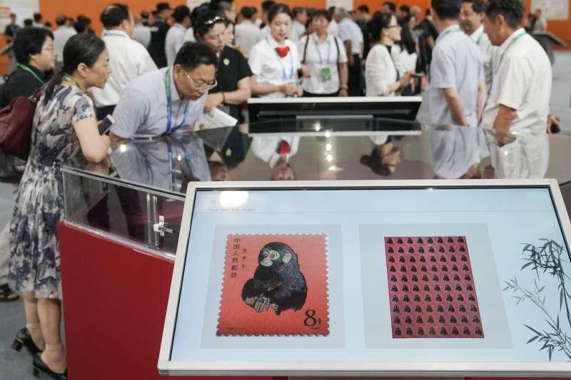 中國2019世界集郵展覽在湖北武漢開幕(新華社)