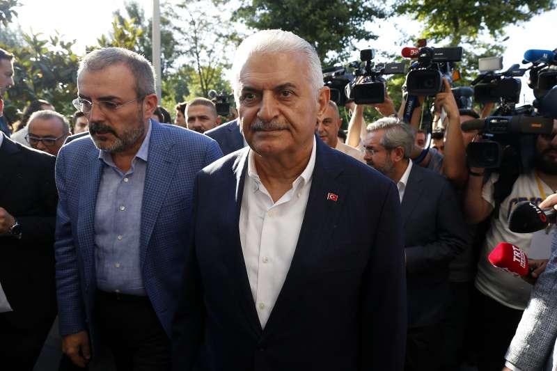 2019年6月23日,土耳其大城伊斯坦堡重選市長,執政黨「正義發展黨」(AKP)候選人尤迪倫又輸了(AP)