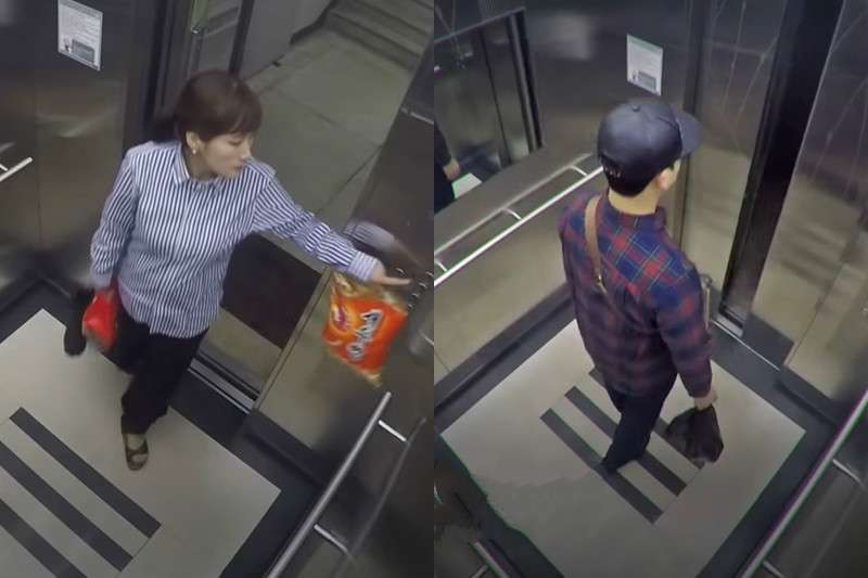 韓國這對夫妻進入公寓電梯後,從此人間蒸發……(示意畫面/取自youtube)