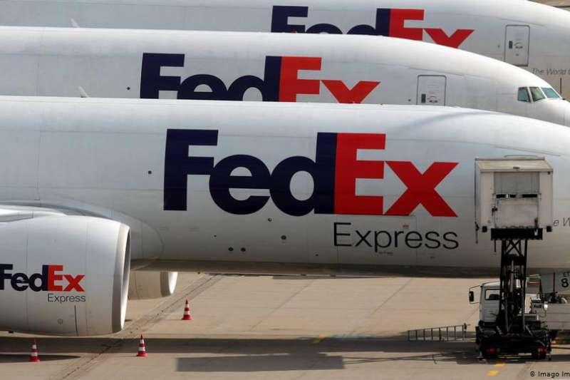 美國聯邦快運將內含華為手機的包裹「錯誤」退回(圖/德國之聲)