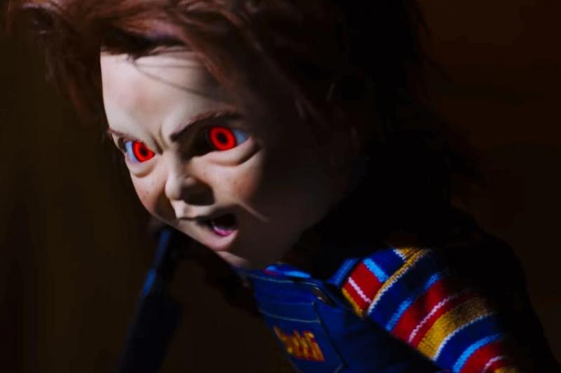 近期上映的電影《恰吉》(Child's Play),表現非常像恐怖情人。(圖/IMDb)