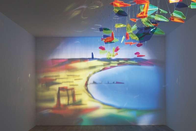 影子魔幻展-拉沙德·阿拉卡羅夫 -飛往巴庫-Rashad Alakbarov。(圖/奇美博物館)