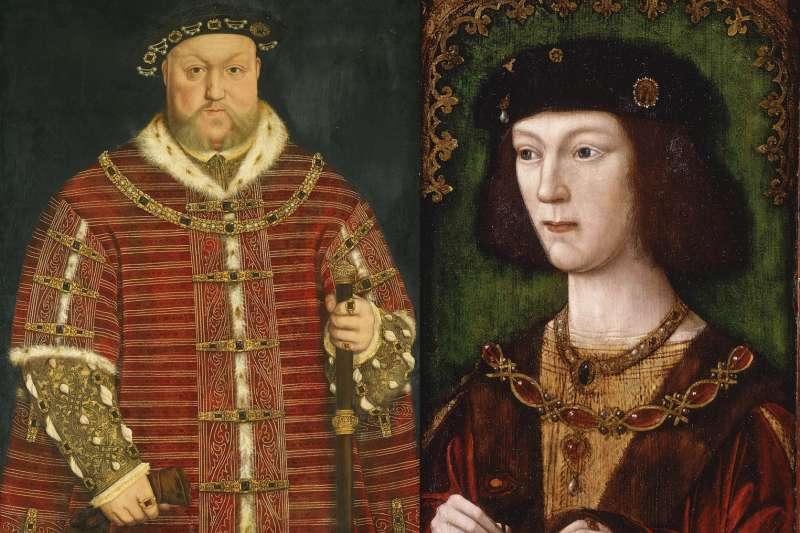 英國史上最有名渣男﹣亨利八世。(圖/取自維基百科)