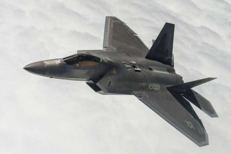 F-22。(洛克希德馬丁官網)