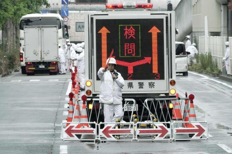 G20峰會將於大阪登場,會議地區交管嚴格。(AP)