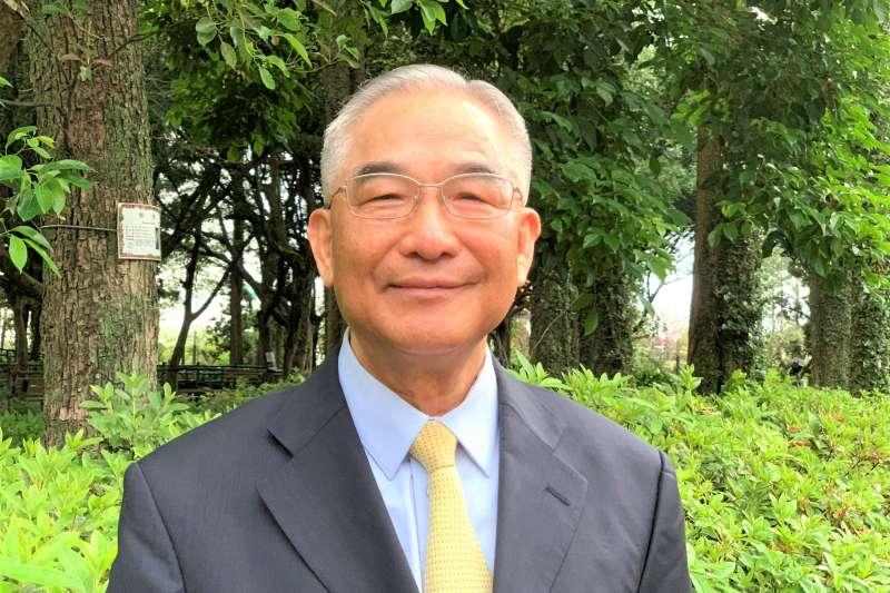外交專題:前駐馬紹爾群島大使、前駐菲律賓代表林松煥(簡恒宇攝)