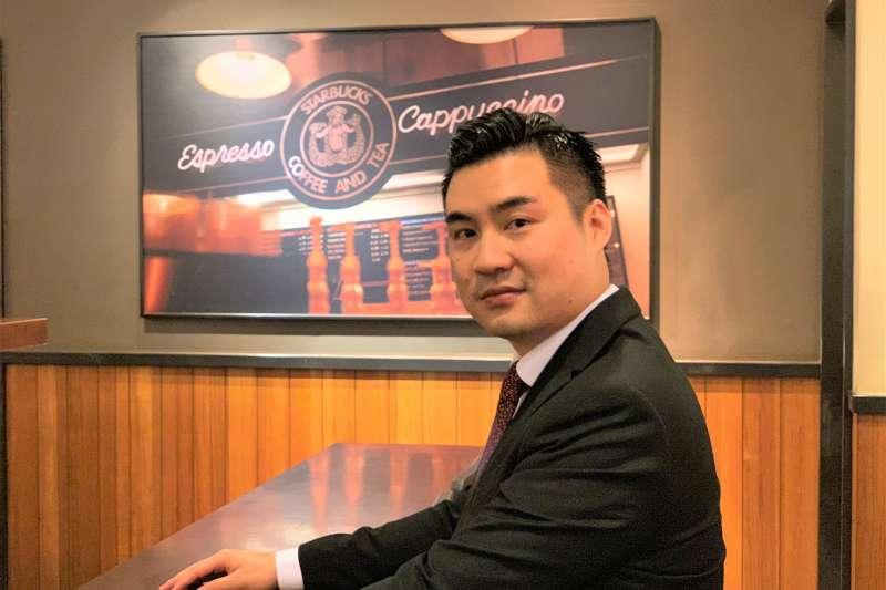 外交專題:國民黨國際部前主任黃裕鈞(簡恒宇攝)