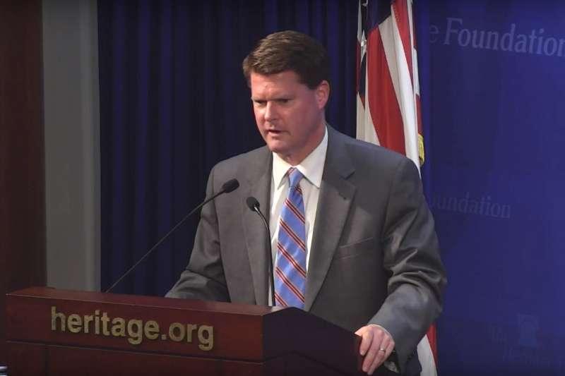 美國國防部印太事務部助理部長薛瑞福。(翻攝Youtube)