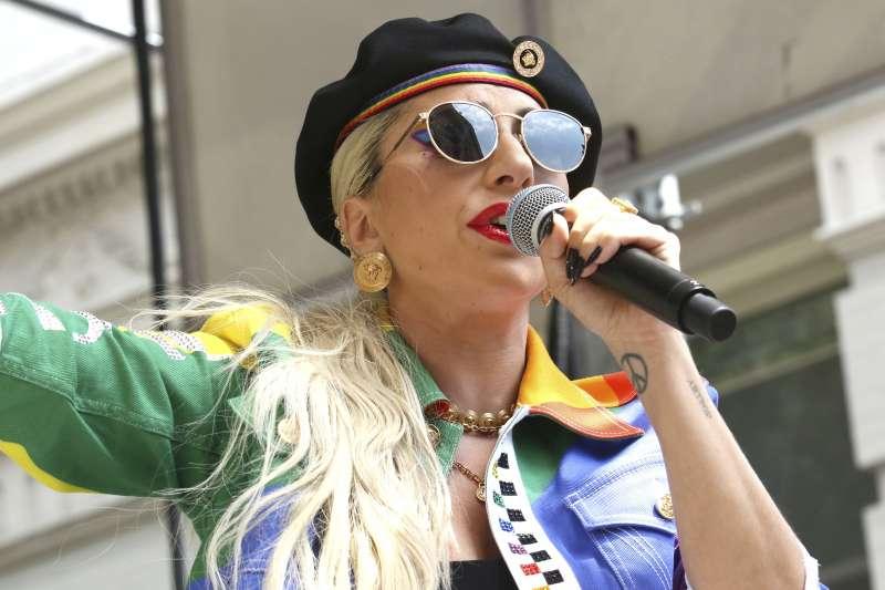 美國流行音樂天后Lady Gaga(美聯社)