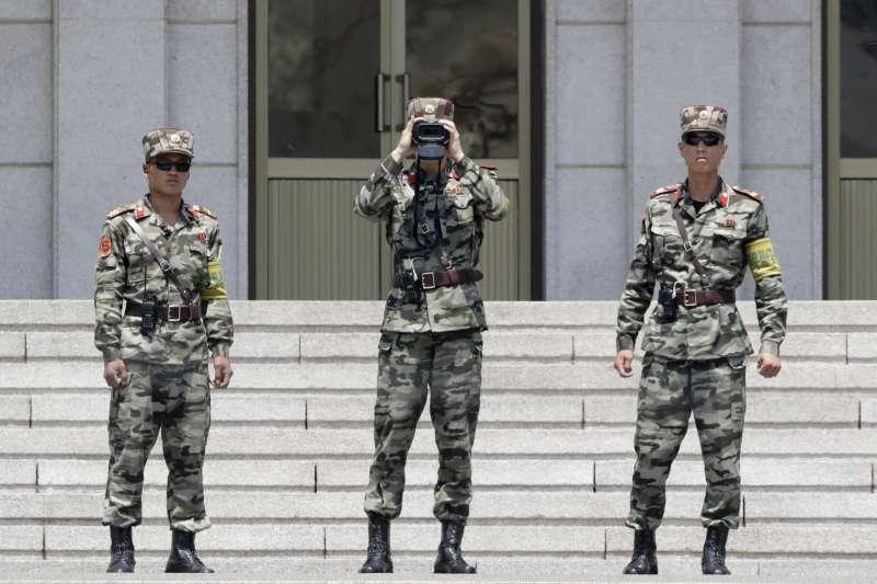 兩韓38度線板門店非軍事區(DMZ)(AP)