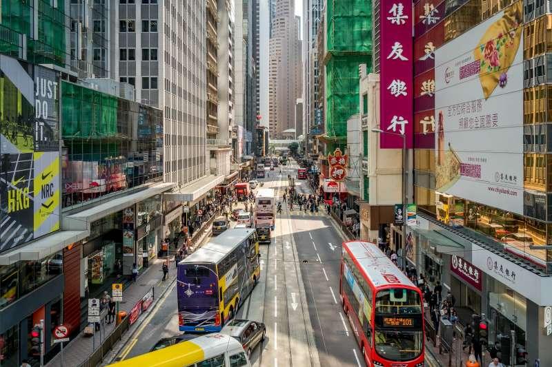 香港(取自pixabay)