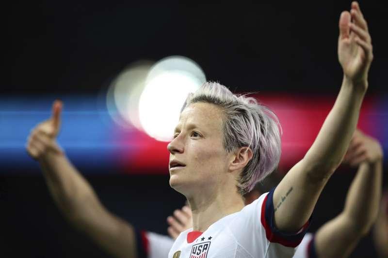 美國女子國家足球隊隊長拉皮諾(AP)