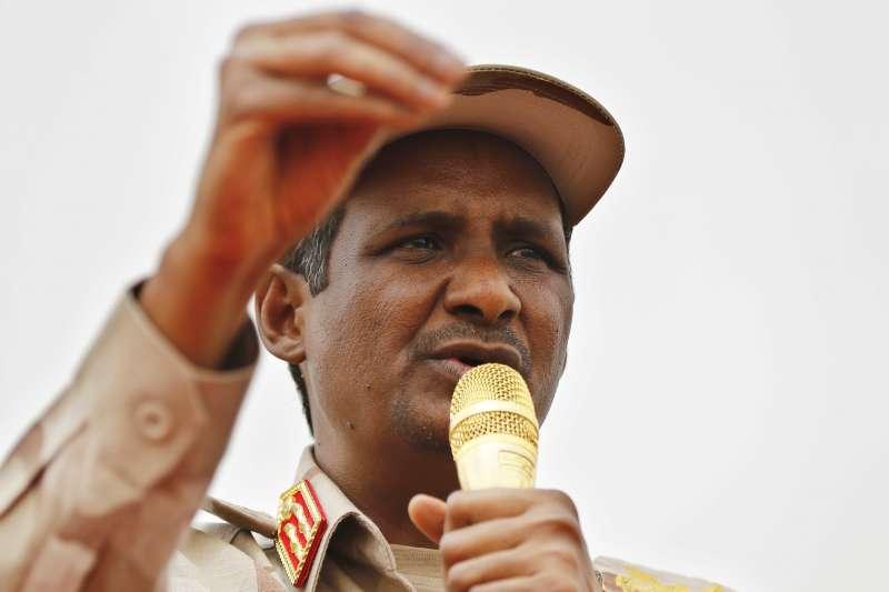 蘇丹軍政府副領導人達加洛(Mohamed Hamdan Dagalo)(AP)