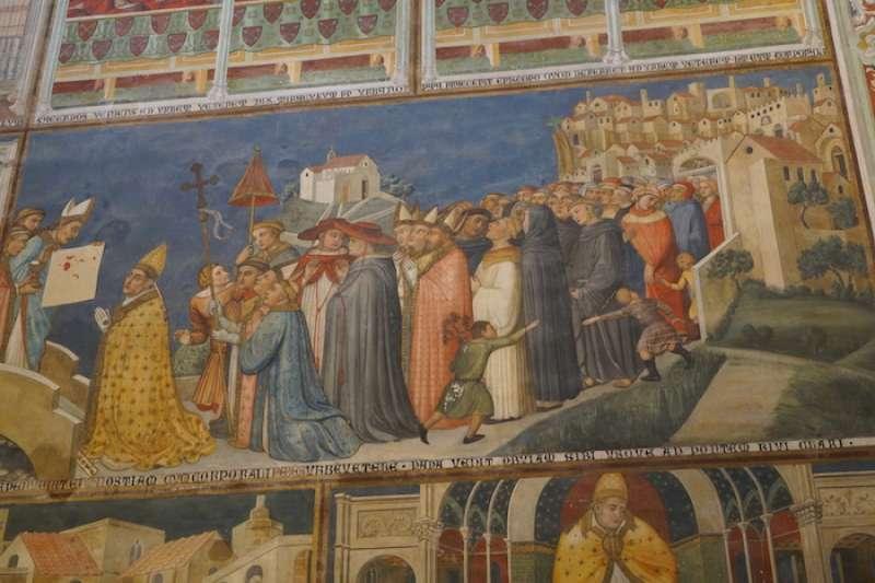 教宗烏爾巴諾四世證實聖體聖事奇蹟(曾廣儀攝)