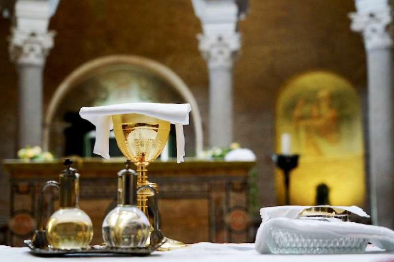 教會七大聖事之一的聖體聖事(曾廣儀攝)