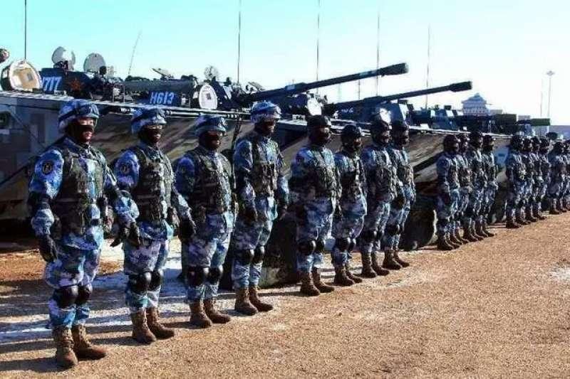 中國的兩棲裝甲部隊。