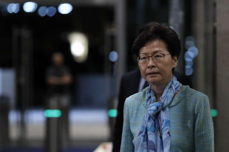 香港反送中:特首林鄭月娥譴責暴力,堅拒下台(AP)