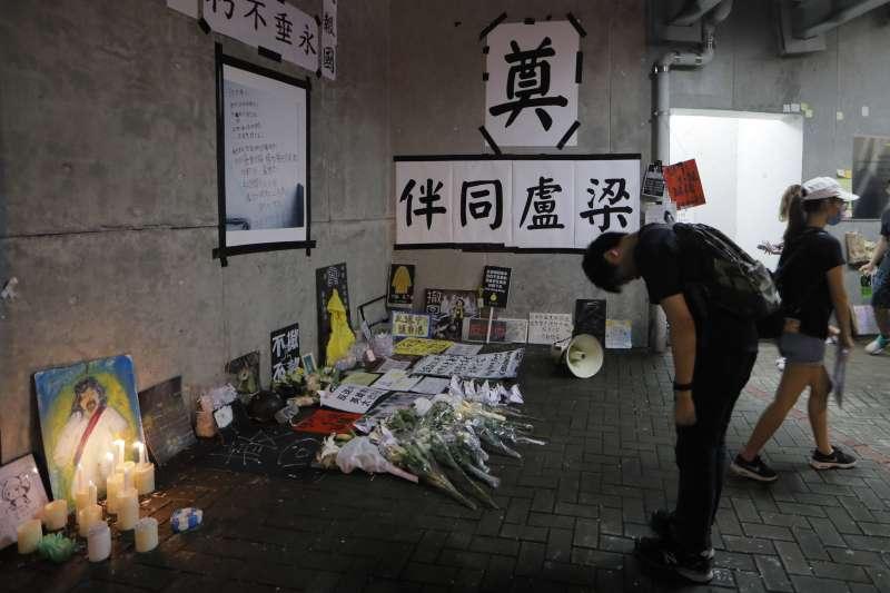 香港反送中:已有3人自殺身亡(AP)