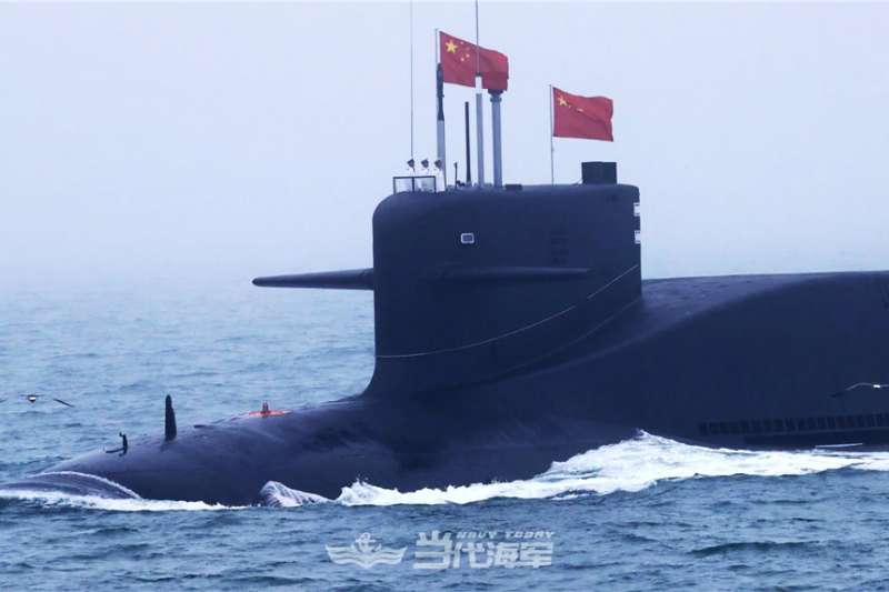 解放軍的攻擊型核潛艦。(翻攝中國軍網)