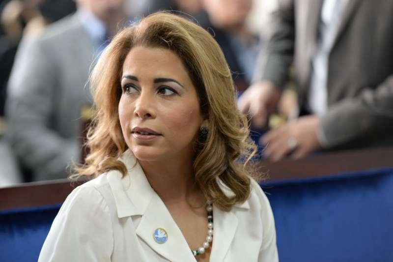 阿拉伯聯合大公國副總統兼總理、杜拜酋長穆罕默德(Sheikh Mohammed bin Rashid)45歲的妻子哈雅公主。(AP)