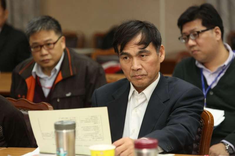 林清淇主管的內政部民政司處理兩岸問題,倍感吃力。(郭晉瑋攝)