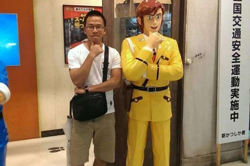2014年8月31日_殉職鐵路警察李承翰(左)。(資料照,取自李承翰臉書)