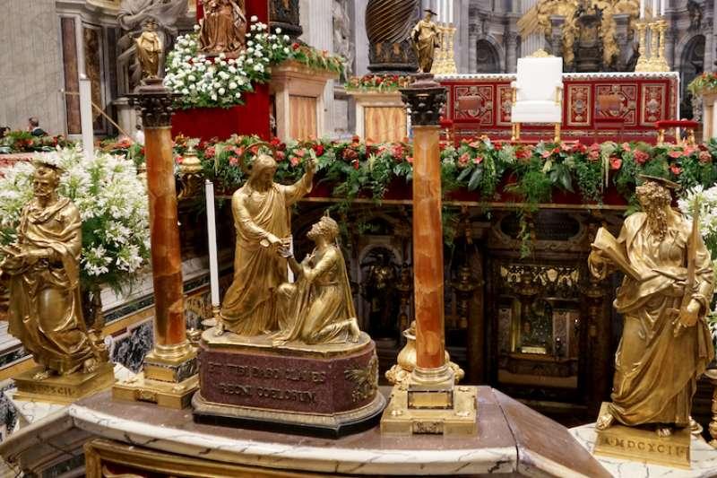 聖伯多祿和聖保羅是羅馬教會的石柱(曾廣儀攝)