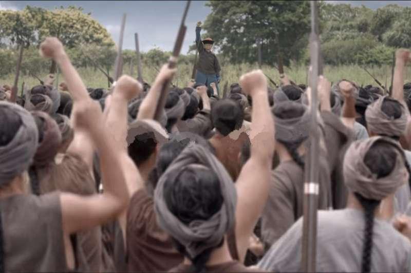 霧峰林家以武力起家,透過戰功取得專賣權經商致富。(圖/取自《阿罩霧風雲》youtube)