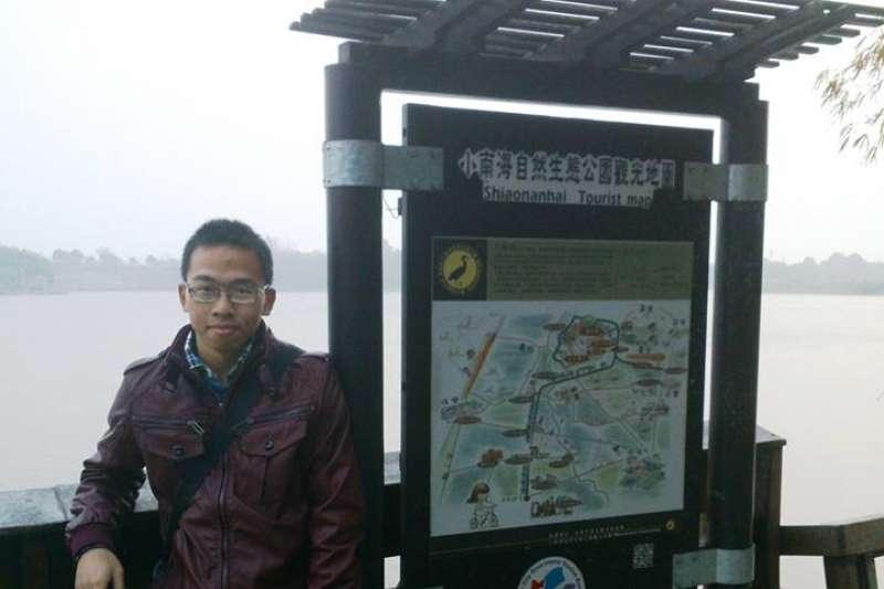 2014年3月9日_殉職鐵路警察李承翰。(資料照,取自李承翰臉書)