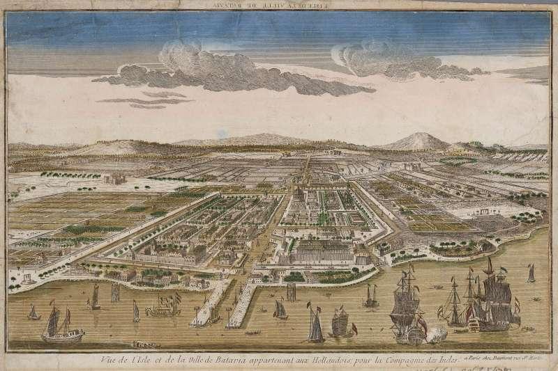 18世紀的巴達維亞(Batavia ),今日的雅加達(Jakata)(Wikipedia / Public Domain)