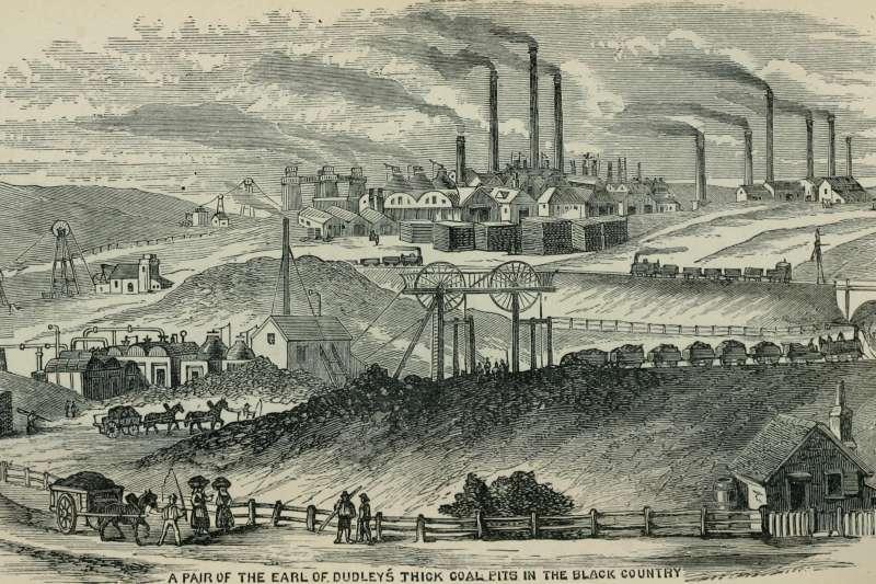 英國的煤礦城鎮(Wikipedia / Public Domain)