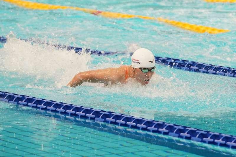 黃渼茜選手是全國50公尺蝶式記錄保持人。(大專體總提供)