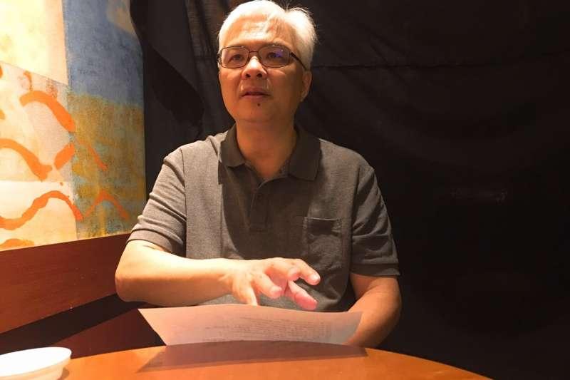 20190705-台北教育大學台文所助理教授蘇瑞鏘。(林艾提供)