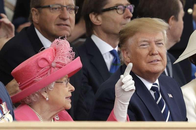 美國總統川普6月才剛結束訪英之行,英國駐美大使達洛克的機密電報就遭外洩,文中對川普多所批評,恐重傷英美關係。(AP)