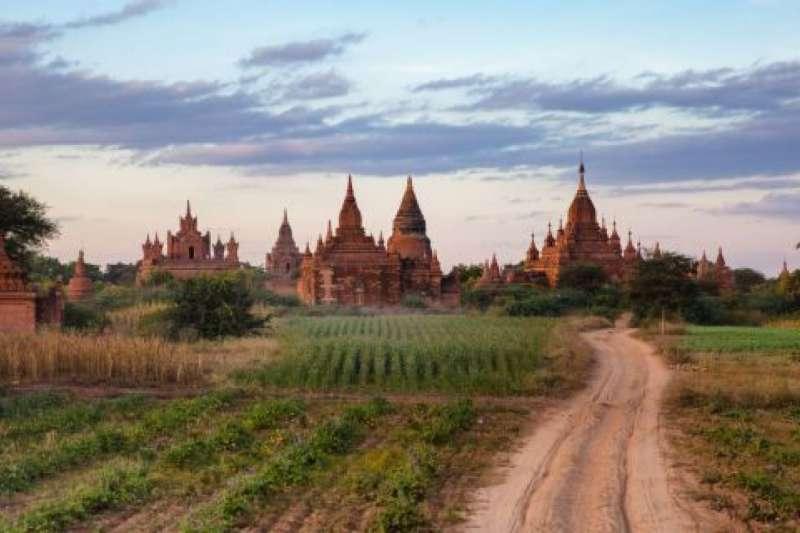 緬甸古城蒲甘被列入世界遺產(資料照,AP)