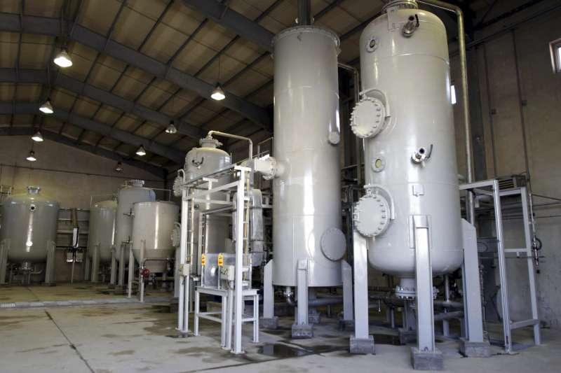 伊朗阿拉克(Arak)生產重水的核子設施(AP)
