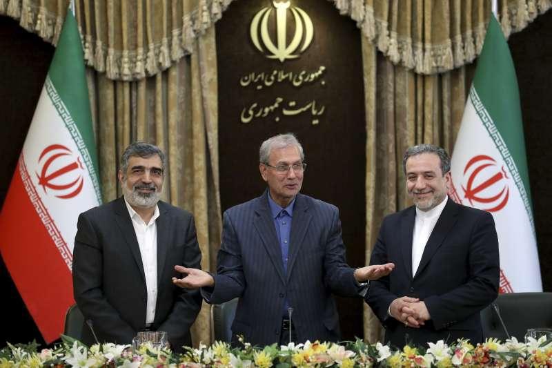 2019年7月7日,伊朗政府宣布提高提煉濃縮鈾的純度(AP)