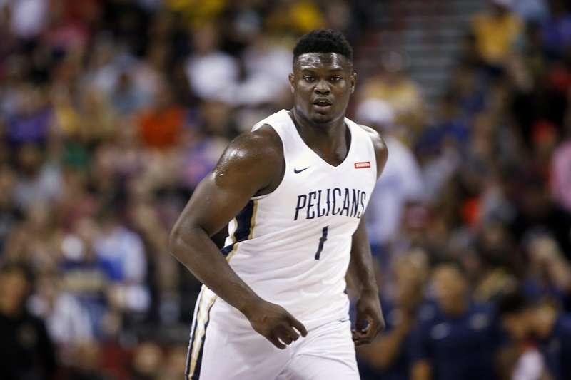 美國職籃NBA選秀狀元,紐奧良鵜鶘的威廉森21日接受右膝關節鏡手術,預計將缺席兩個月。 (資料照,美聯社)