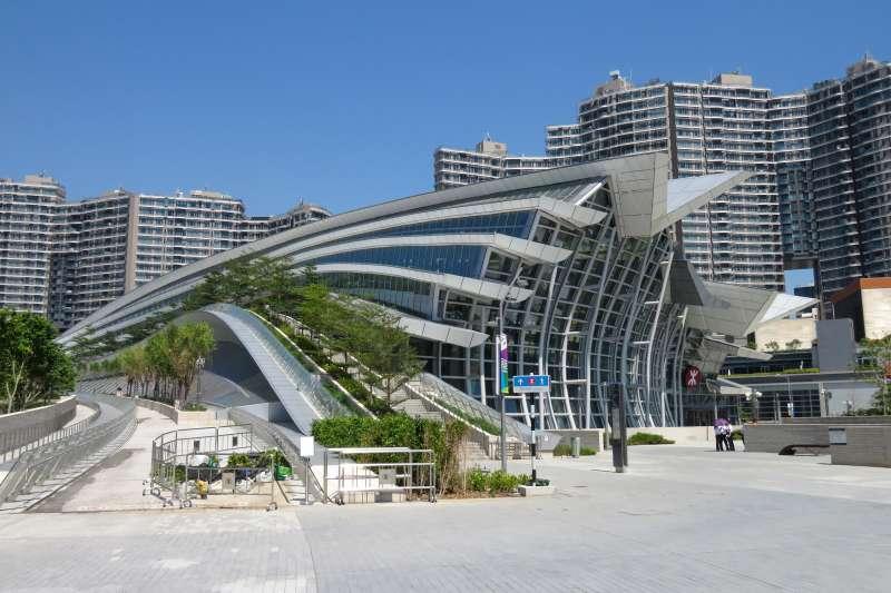 「廣深港高速鐵路」西九龍站(N509FZ@Wikipedia / CC BY 4.0)
