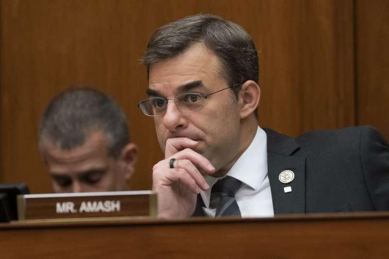 美國密西根州聯邦眾議員艾馬許(Justin Amash)(AP)