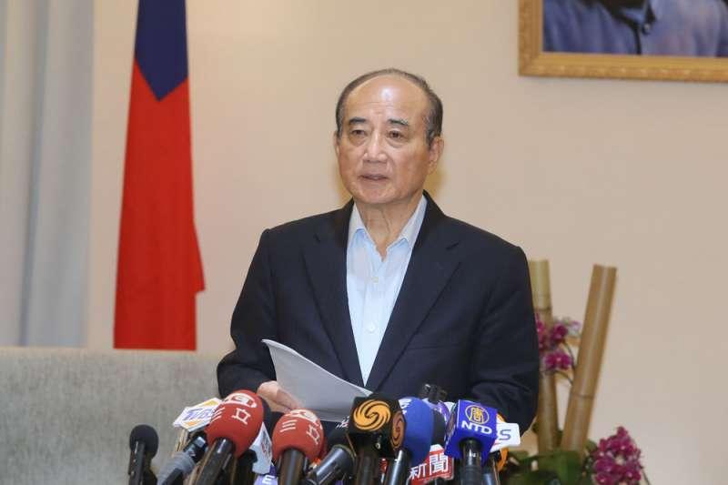 王金平批評初選民調,背後的原因引發政壇議論。(柯承惠攝)