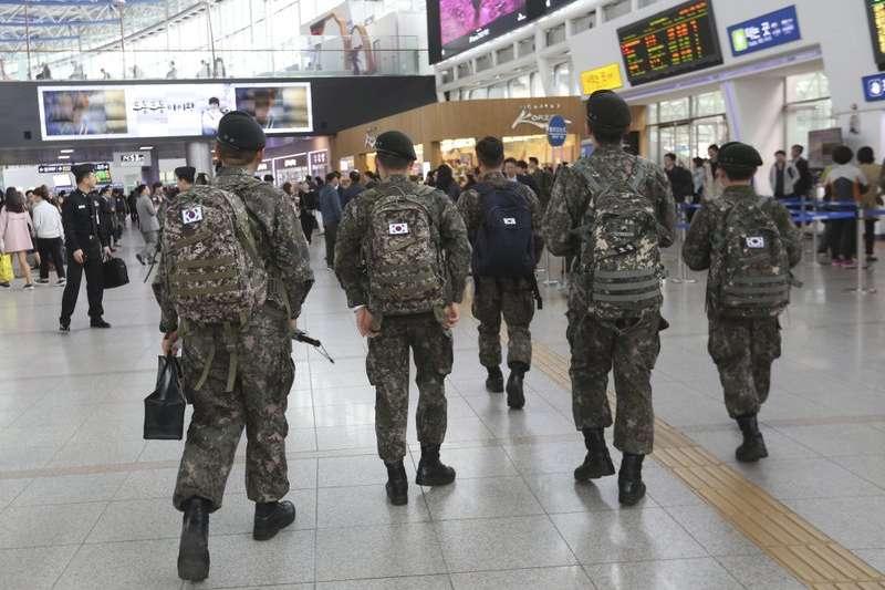 國際特赦組織發布報告指出,南韓軍中未保障LGBTI人權(資料照,AP)