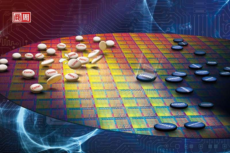 製程技術全球第一的台積電,正在晶圓代工戰場上,遭遇退無可退的三星近身肉搏。