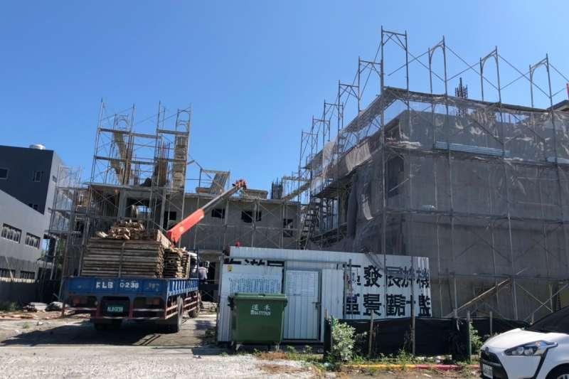 彰化縣府積極鼓勵業者投資,根據統計今年第一季建築投資金額達26億,必去年同期提升一成。(圖/彰化縣政府提供)