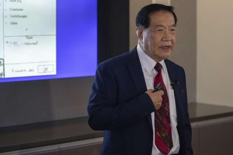 旅美華裔著名刑事鑑識學專家李昌鈺(Henry Lee)(AP)