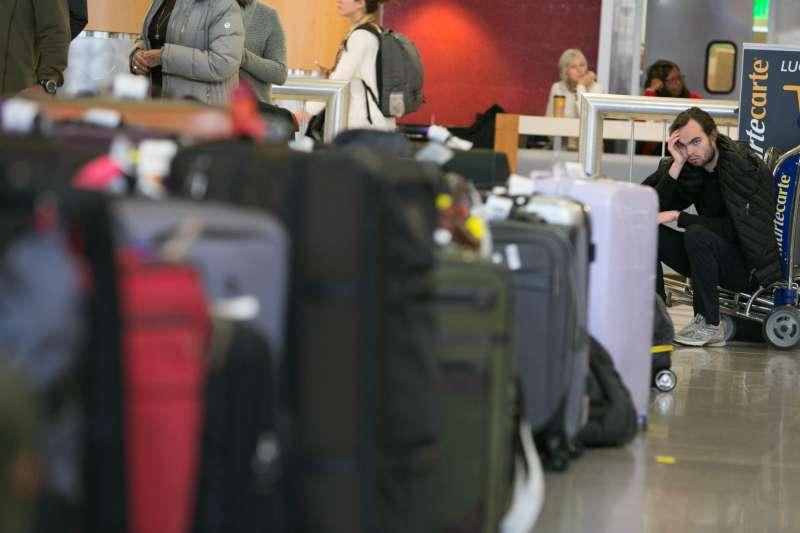 據「英國廣播公司」(BBC)報道,航空公司每年丟失約 2,500 萬件行李。(示意圖非本人/*CUP提供)